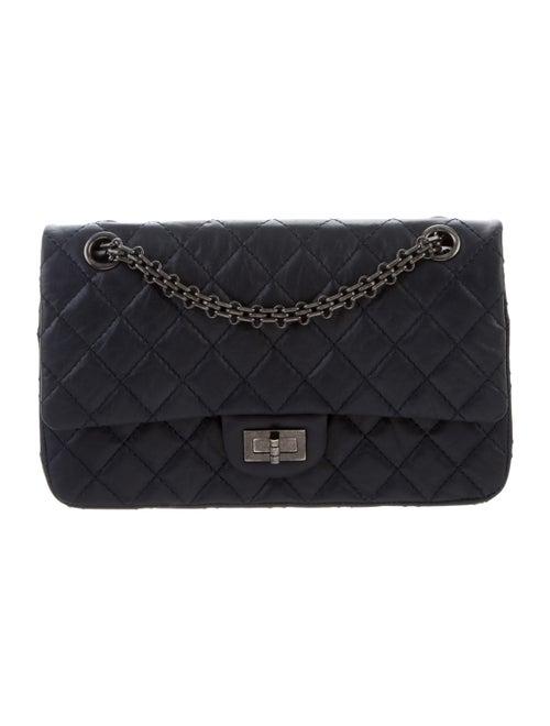 Chanel Reissue 225 Double Flap Bag Blue - image 1