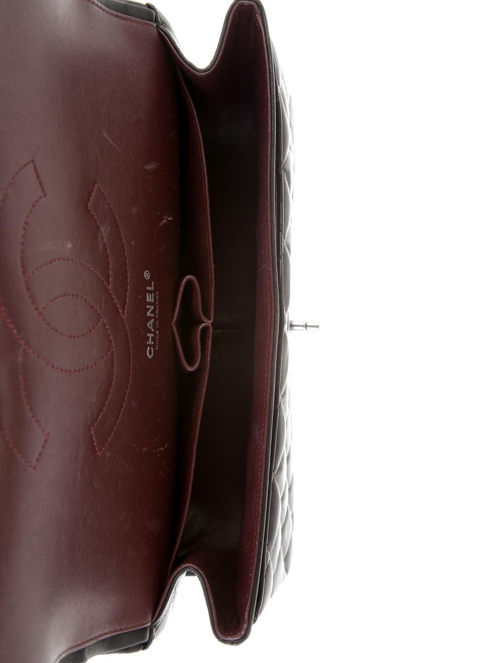 Chanel Classic Jumbo Double Flap Bag Black - image 5