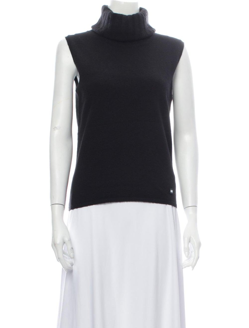 Chanel Vintage 2001 Sweater Black - image 1