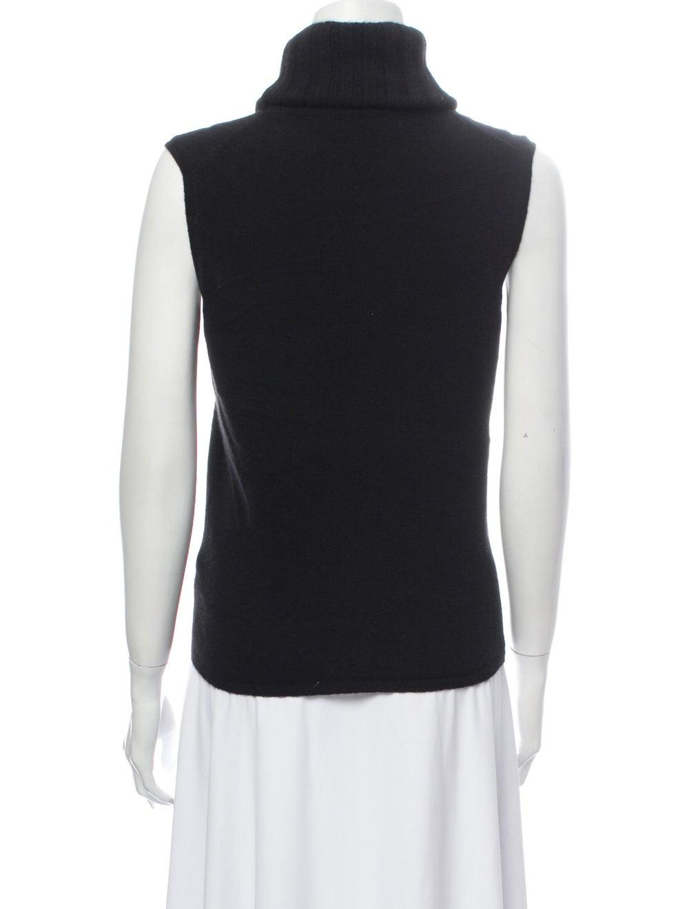Chanel Vintage 2001 Sweater Black - image 3