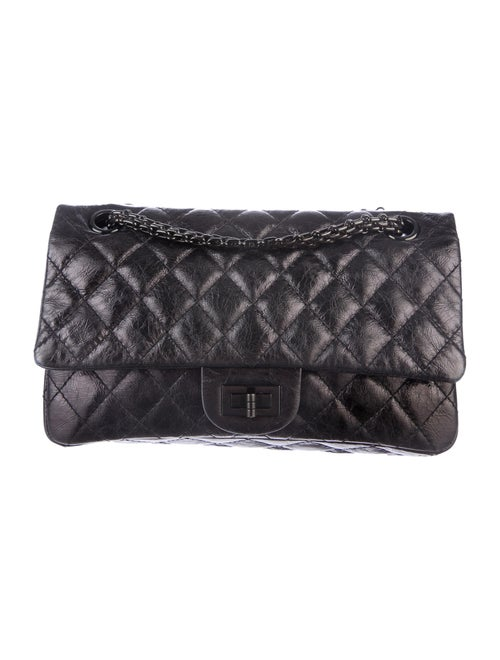 ac33ce179e73 Chanel 2.55 Reissue 225 So Black Flap - Handbags - CHA55975 | The ...