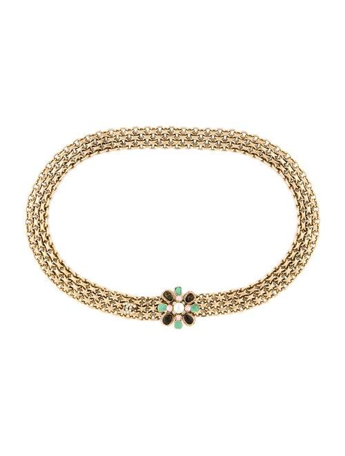 Chanel 2005 Belt Chain-Link Belt Gold