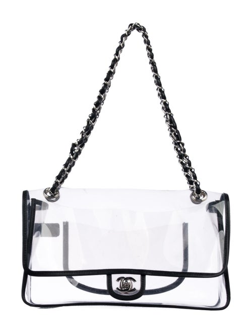 Chanel Naked Flap Bag Clear