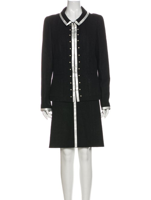 Chanel 2004 Wool Skirt Suit Wool