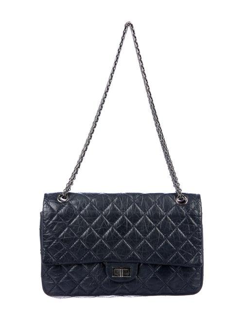 Chanel Reissue 226 Double Flap Bag Blue - image 1