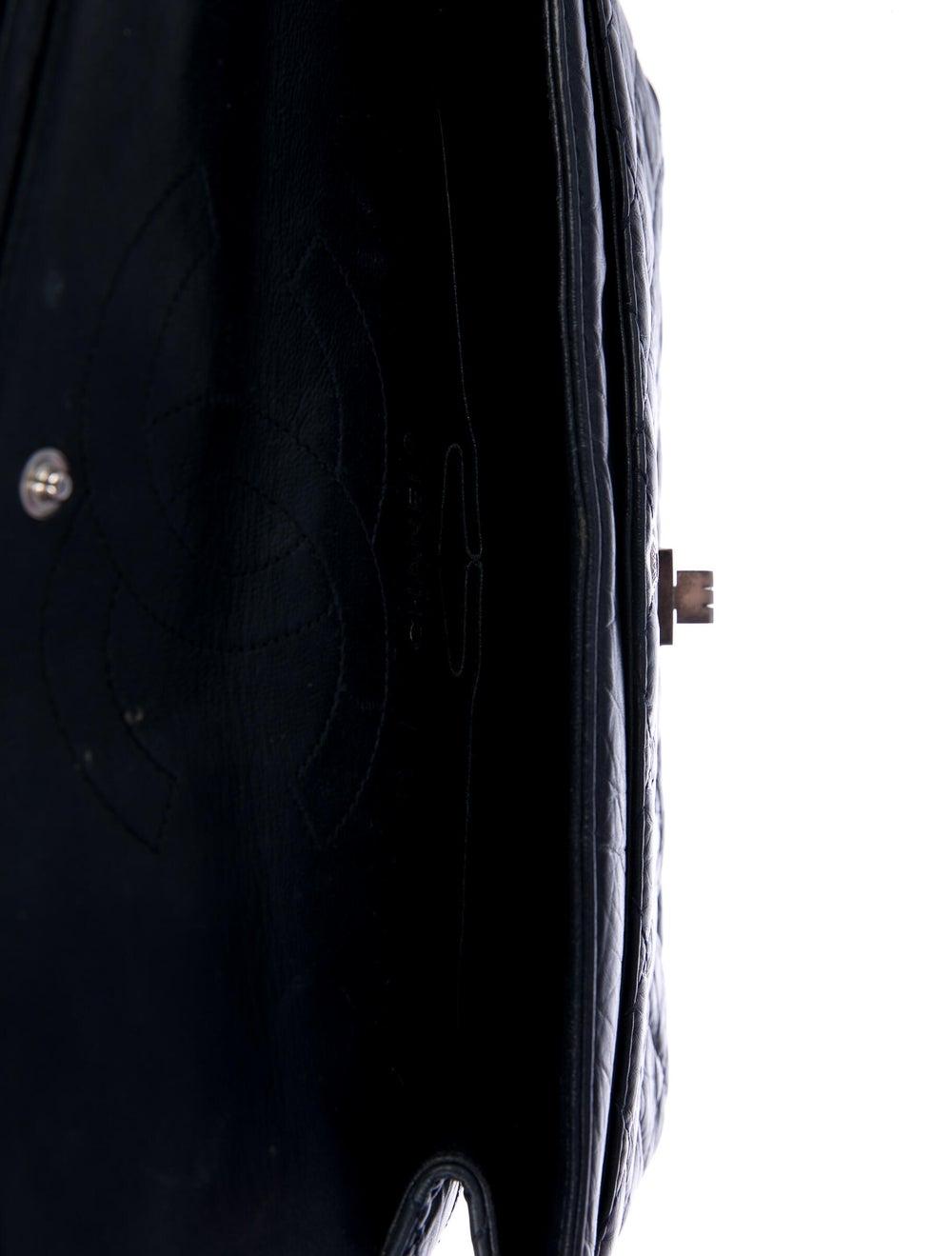 Chanel Reissue 226 Double Flap Bag Blue - image 5