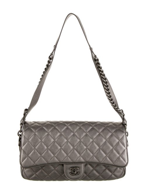 Chanel Casual Rock Flap Bag Grey