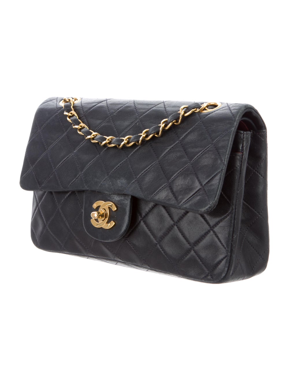 Chanel Small Classic Flap Bag Blue - image 3