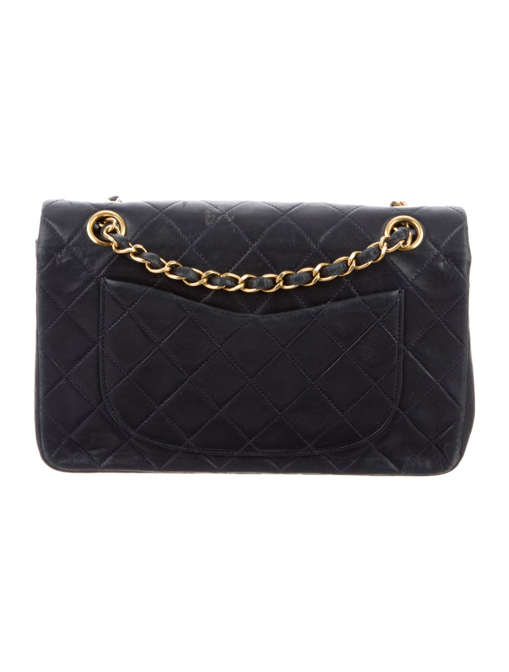 Chanel Small Classic Flap Bag Blue - image 4