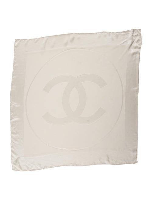 Chanel Silk CC Scarf Silk Scarf