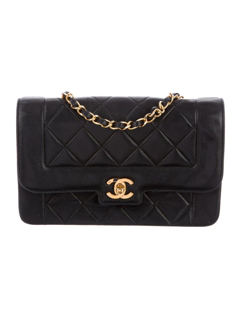 Chanel Vintage Diana Flap Bag Blue - image 1