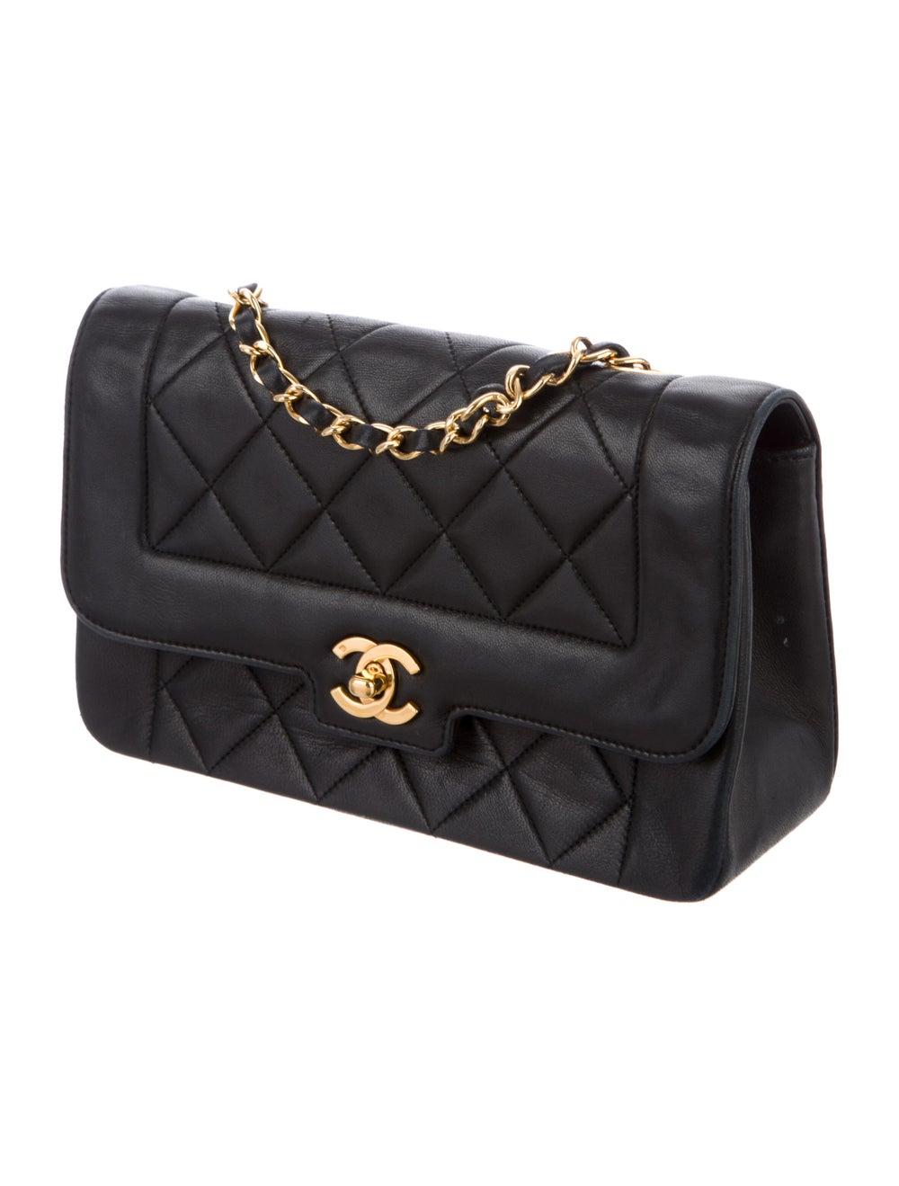 Chanel Vintage Diana Flap Bag Blue - image 3
