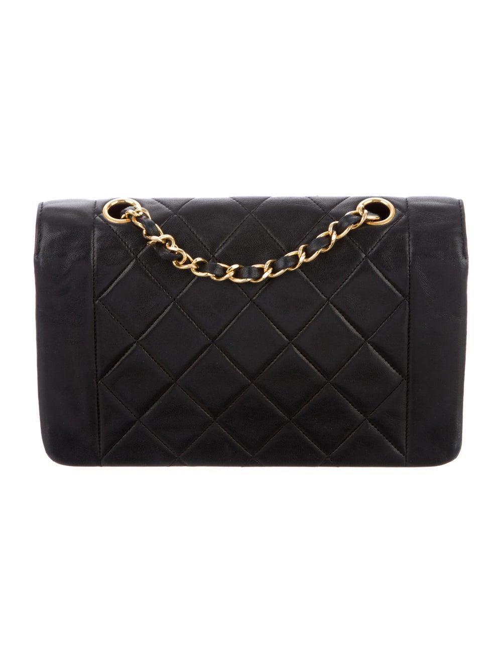 Chanel Vintage Diana Flap Bag Blue - image 4