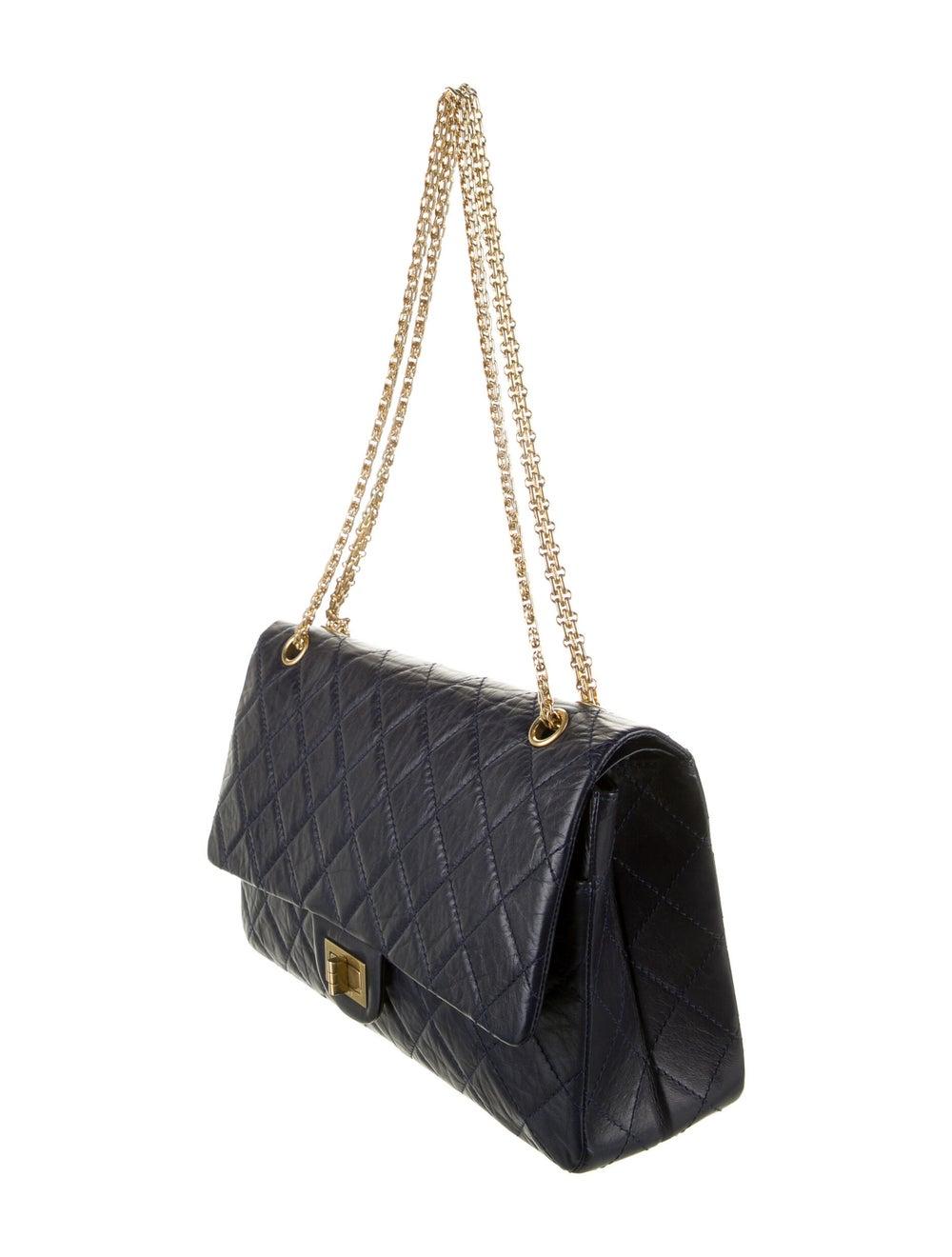 Chanel Reissue 227 Double Flap Bag Blue - image 3