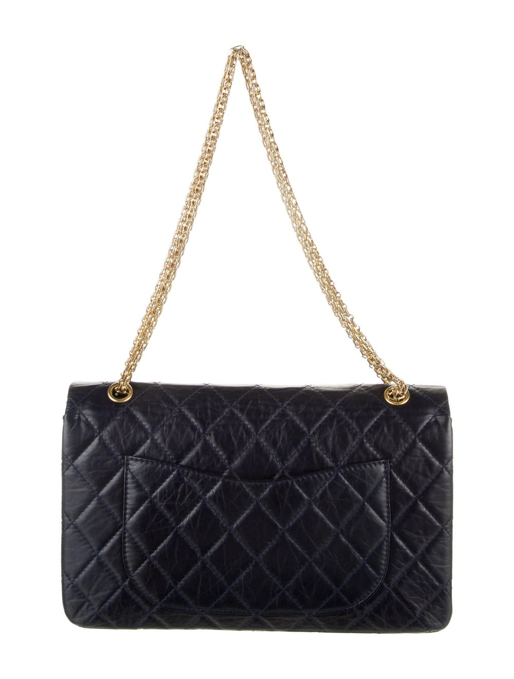 Chanel Reissue 227 Double Flap Bag Blue - image 4