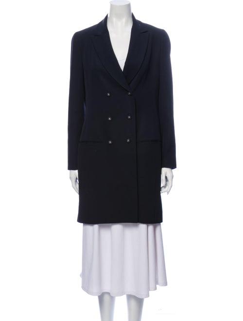 Chanel Vintage 1990's Peacoat Wool