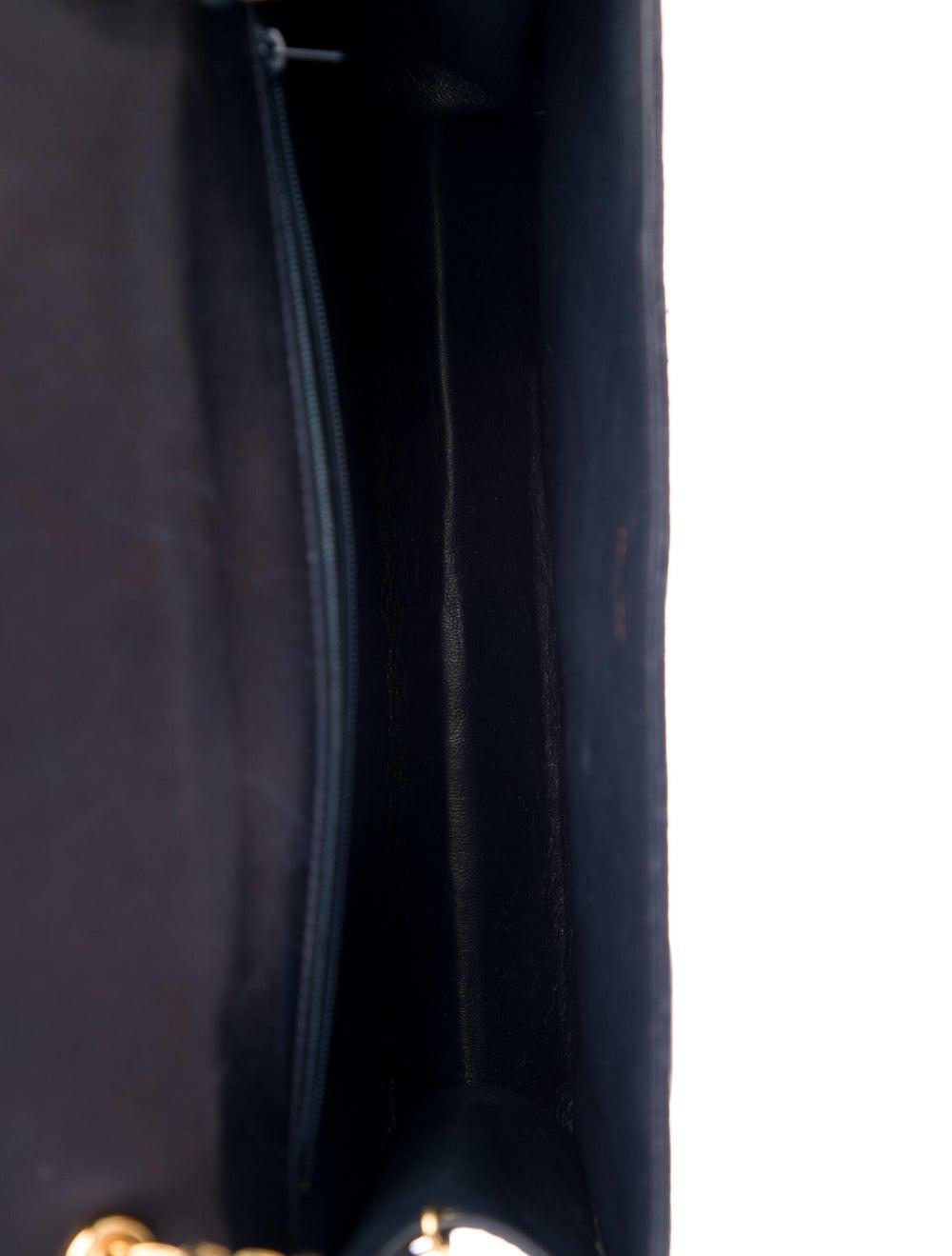 Chanel Vintage Tassel Flap Bag Blue - image 5