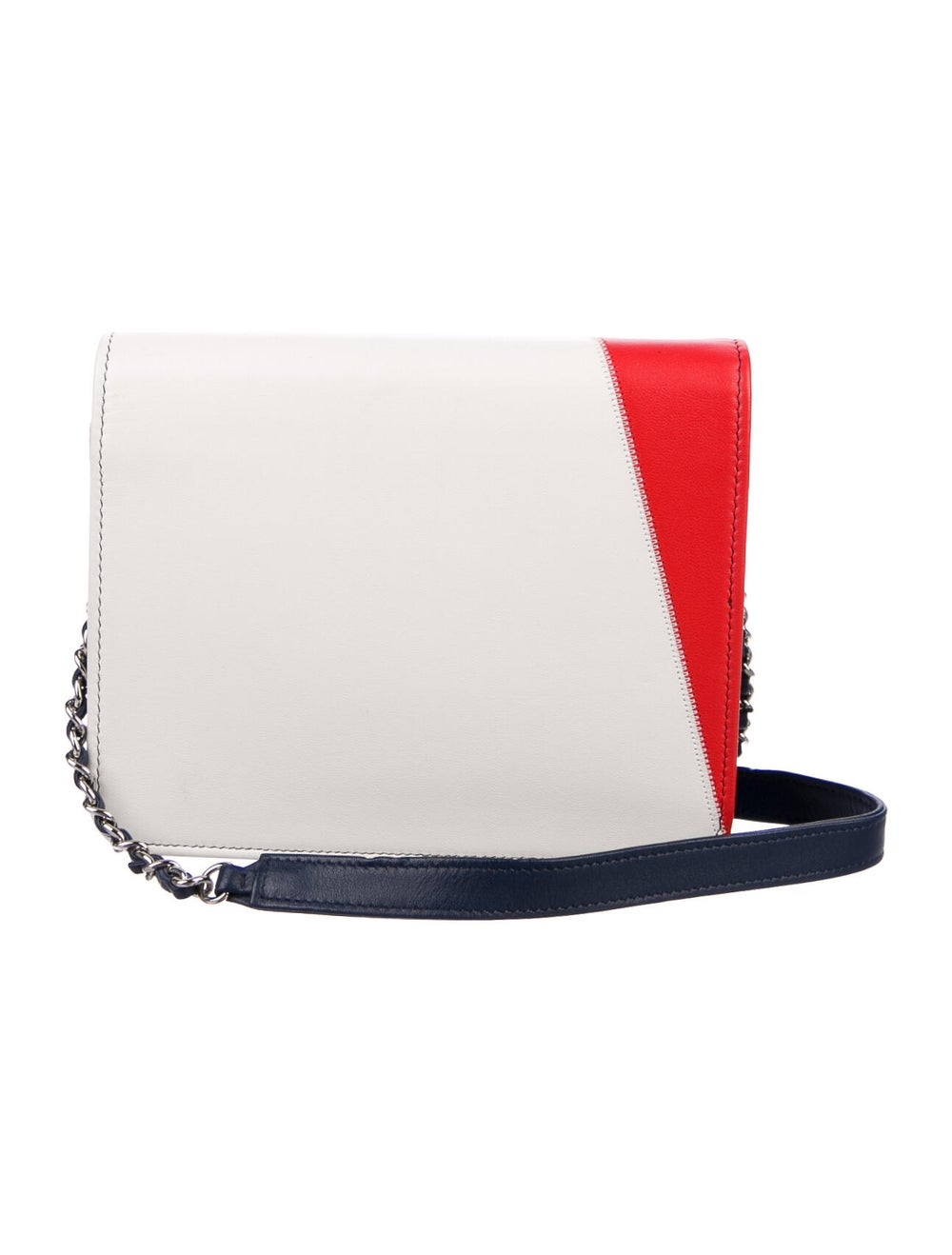 Chanel 2019 CC Accordion Flap Bag Blue - image 4
