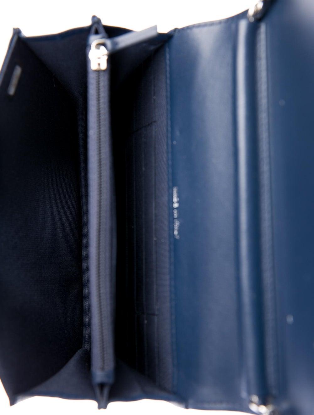 Chanel 2019 CC Accordion Flap Bag Blue - image 5