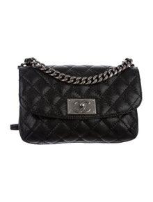 Chanel Caviar Curved Flap Bag