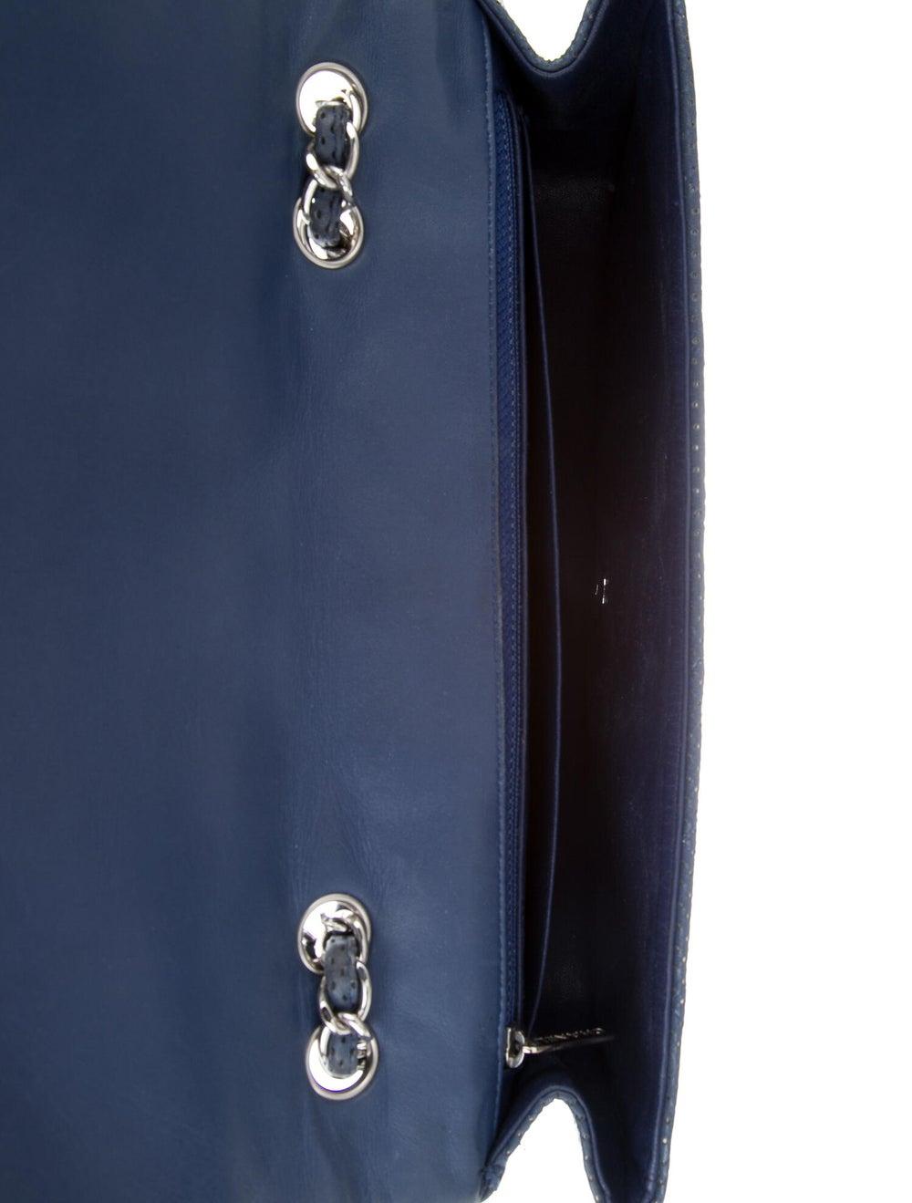 Chanel Perforated Classic Jumbo Single Flap Bag B… - image 5
