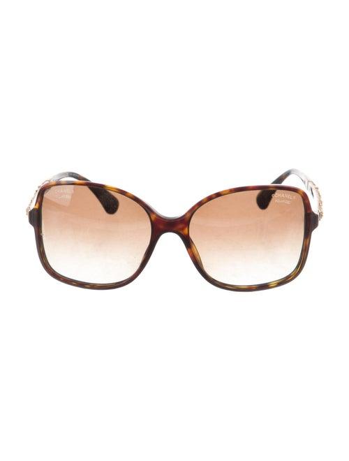 Chanel Chanel Polarized Bijou Sunglasses Interlock