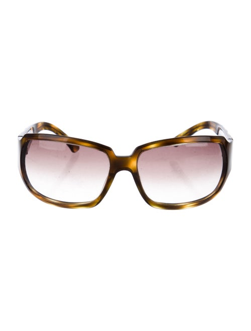 Chanel Chanel Oversize Sunglasses Quilted Pattern