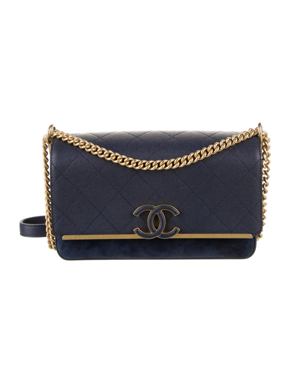 Chanel Chanel Lady Coco Flap Bag Blue - image 1
