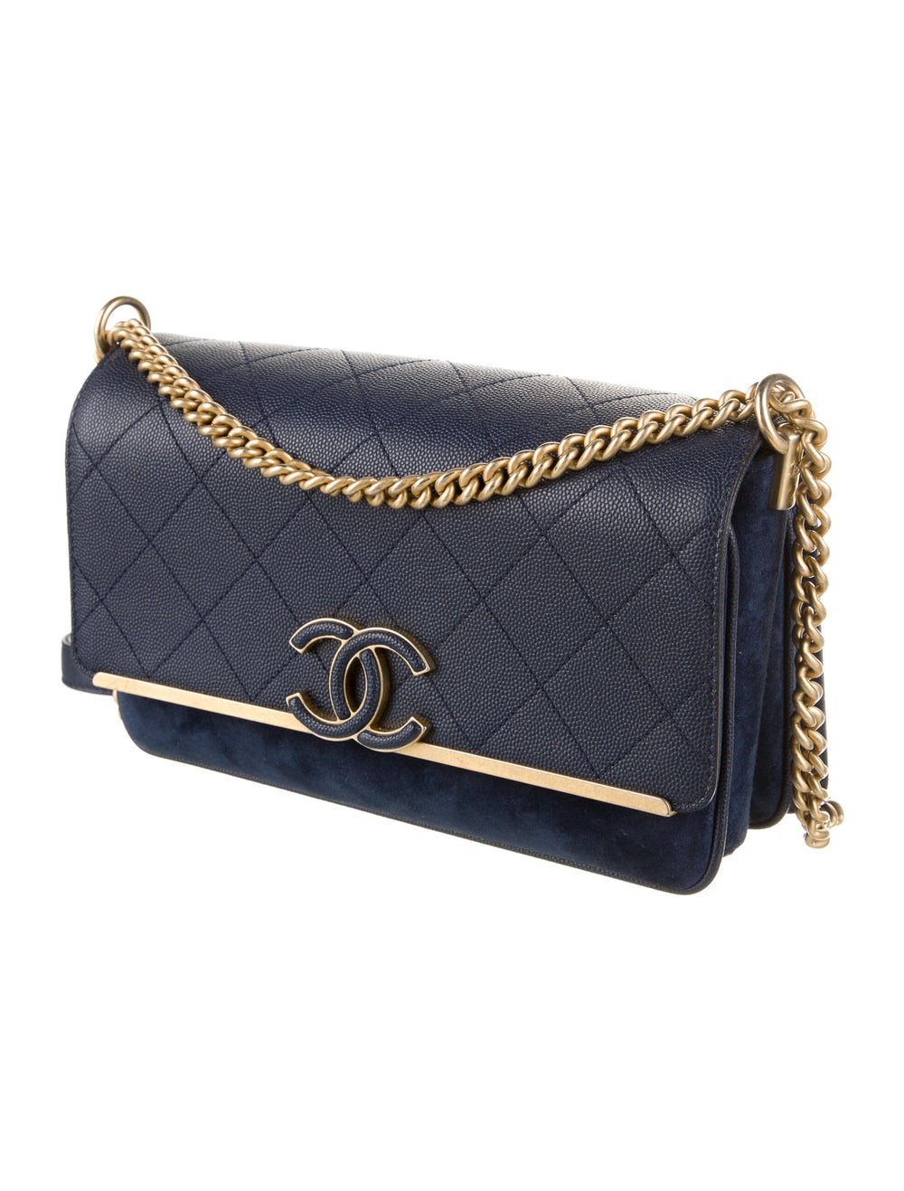 Chanel Chanel Lady Coco Flap Bag Blue - image 3