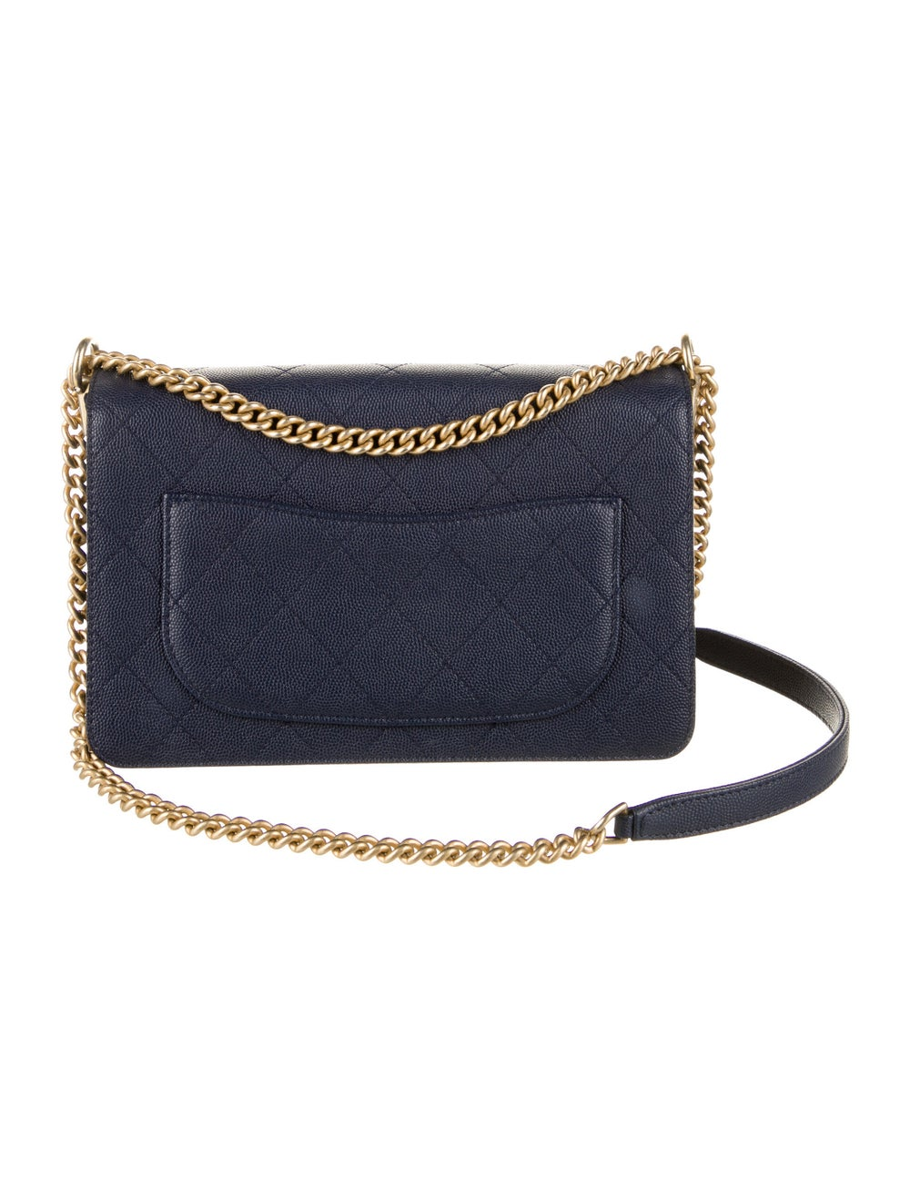 Chanel Chanel Lady Coco Flap Bag Blue - image 4