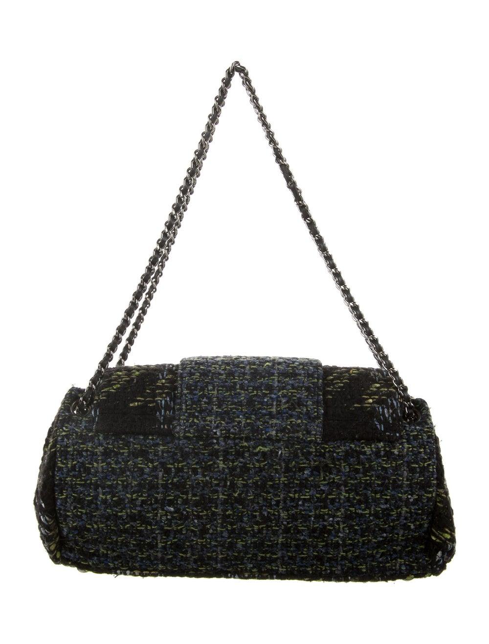 Chanel Tweed Flap Bag Black - image 4