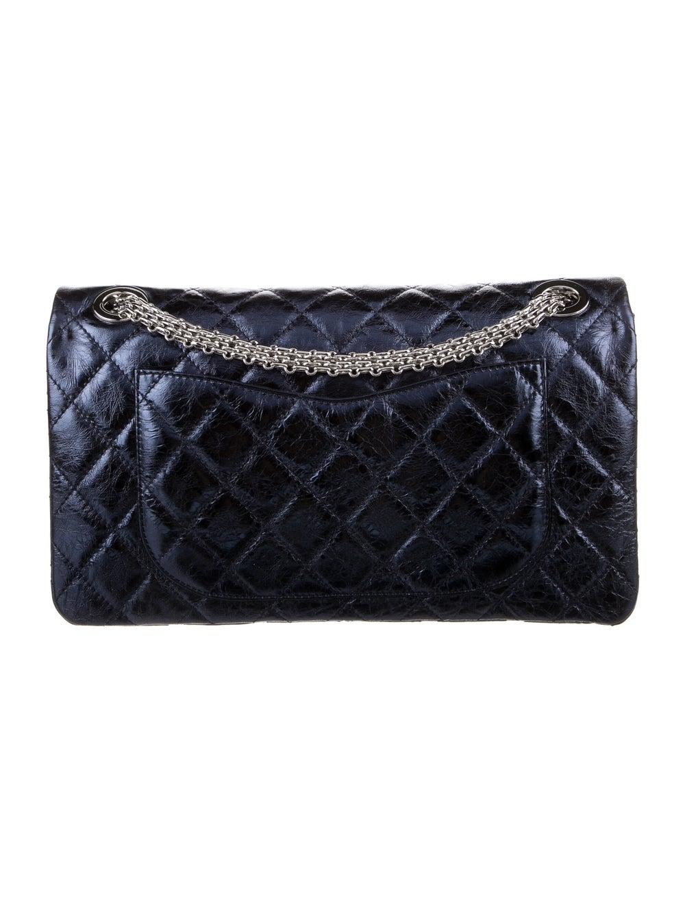Chanel Reissue 228 Double Flap Bag Blue - image 4