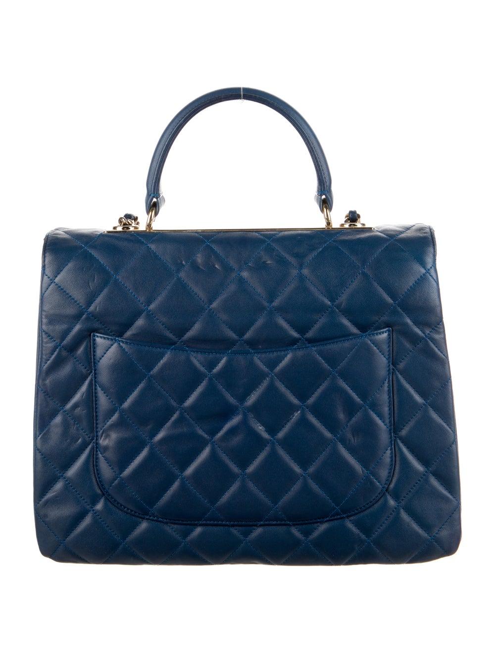 Chanel Large Trendy CC Flap Bag Blue - image 4