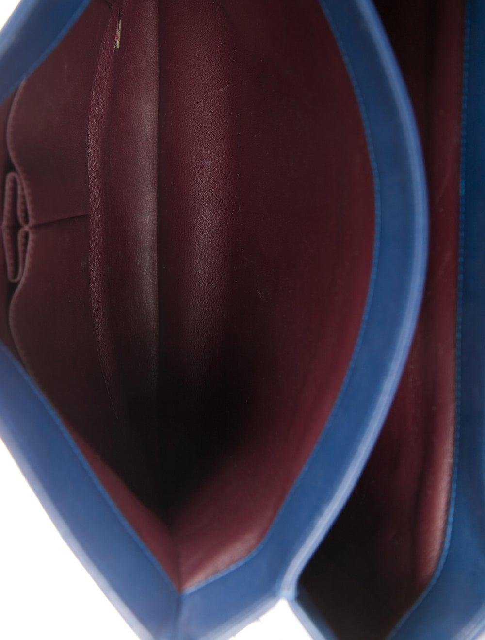Chanel Large Trendy CC Flap Bag Blue - image 5