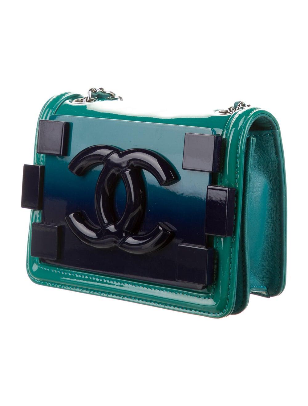 Chanel Boy Brick Flap Bag Blue - image 3