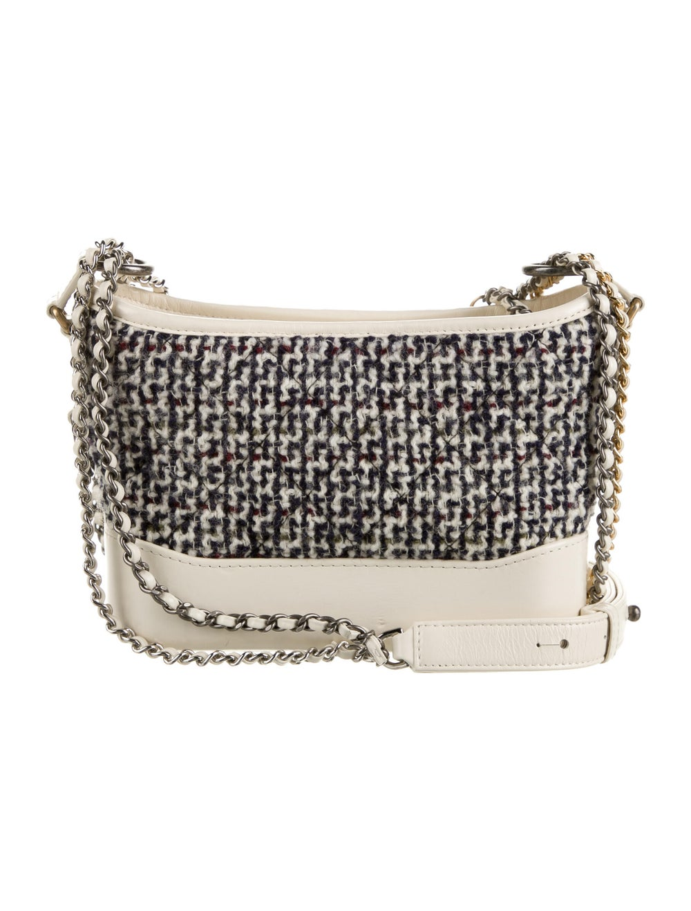 Chanel Tweed Small Gabrielle Bag Blue - image 4