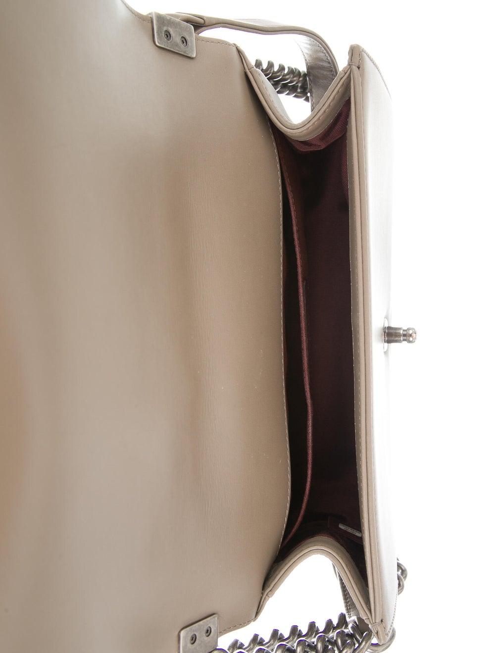 Chanel Medium Tweed Chain Boy Bag Brown - image 5