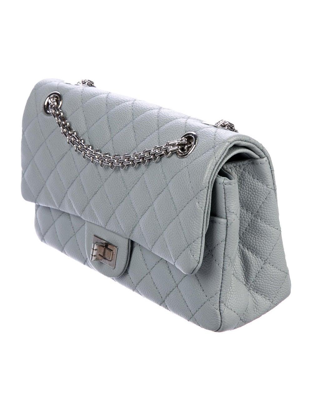 Chanel Reissue 225 Double Flap Bag Blue - image 3