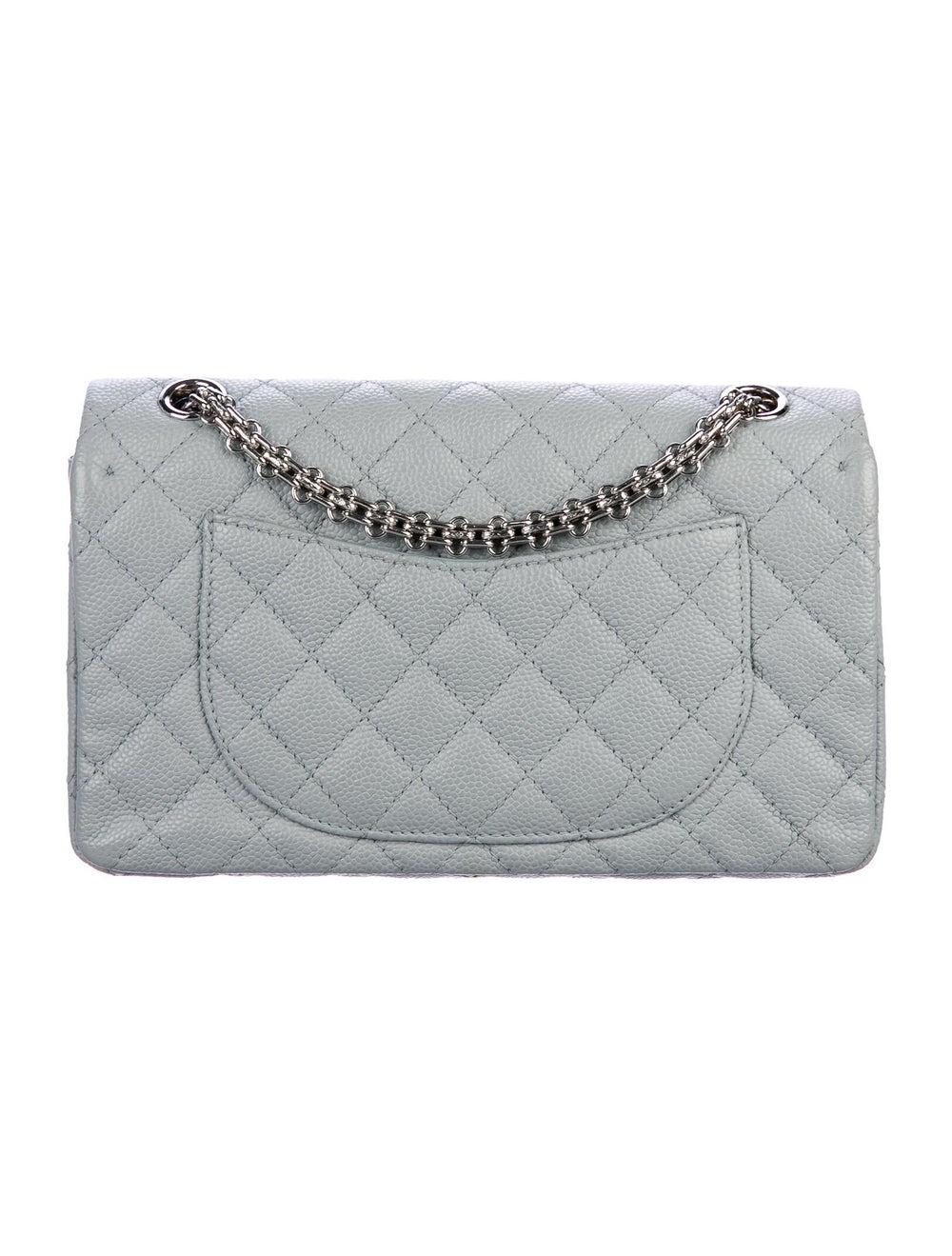 Chanel Reissue 225 Double Flap Bag Blue - image 4