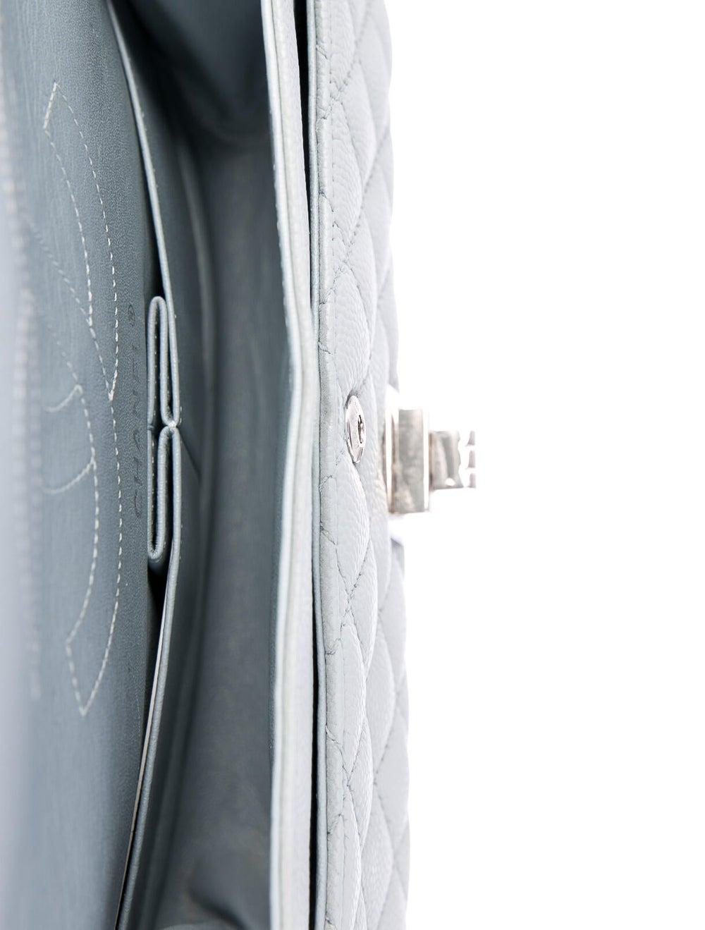 Chanel Reissue 225 Double Flap Bag Blue - image 5