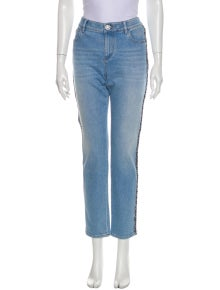 Chanel 2018 Straight Leg Jeans w/ Tags