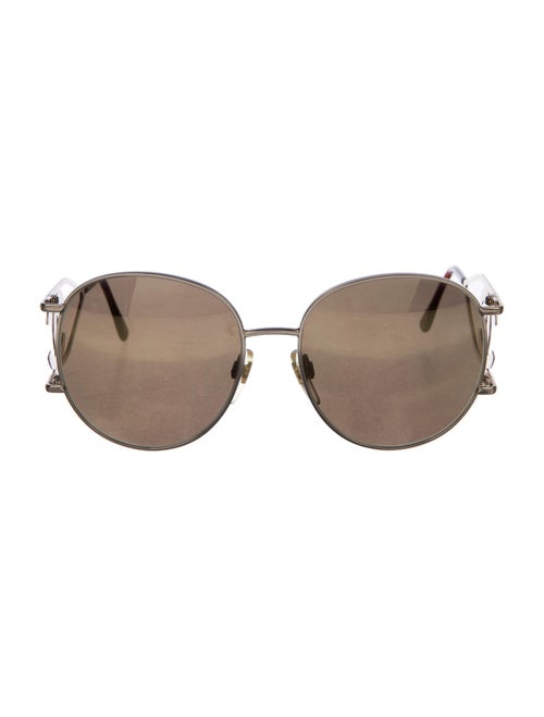 Chanel Vintage 1990's Sunglasses Gold