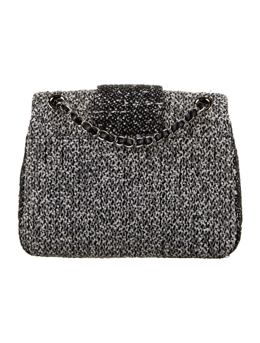 Chanel Tweed Elementary Chic Flap Bag Black - image 4