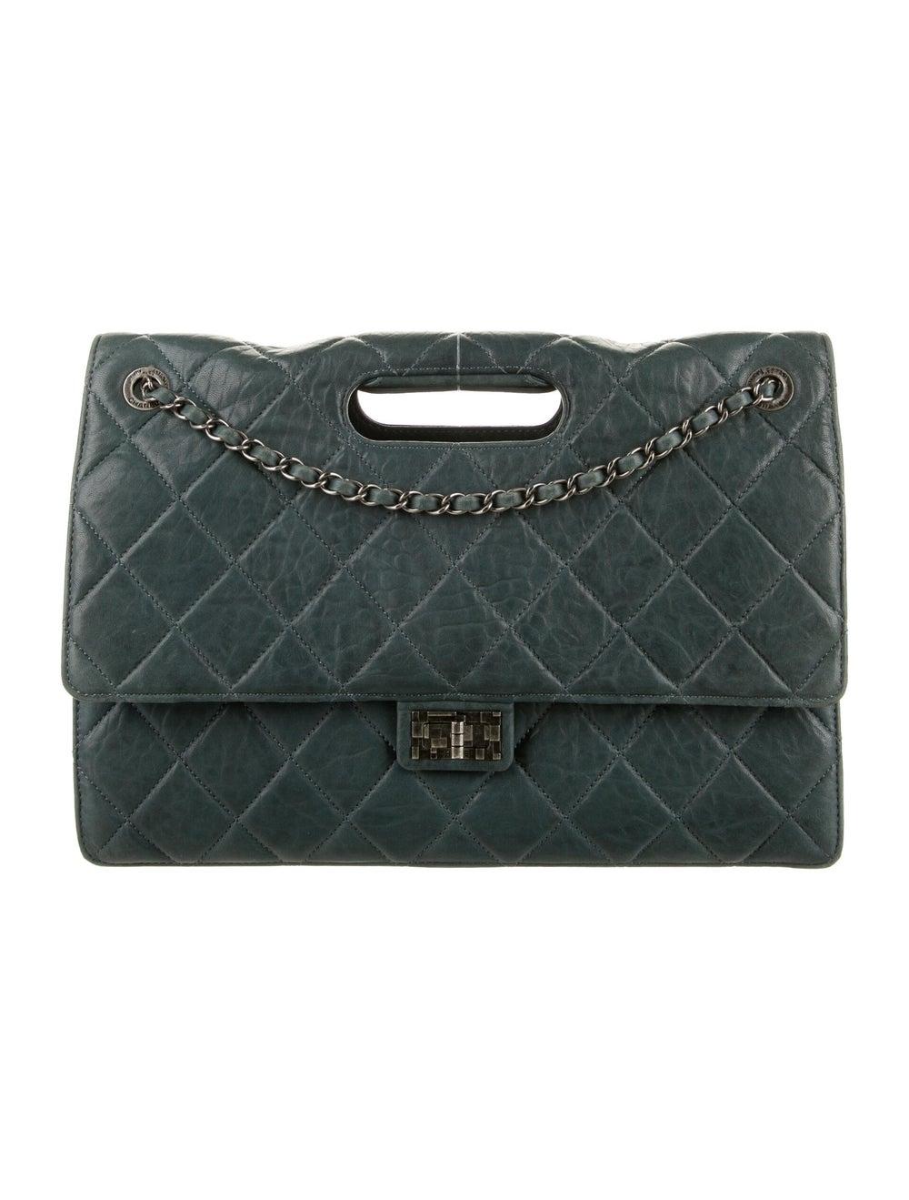 Chanel Paris-Byzance Take-Away Flap Bag Blue - image 1