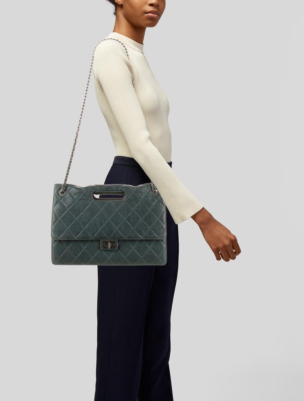 Chanel Paris-Byzance Take-Away Flap Bag Blue - image 2