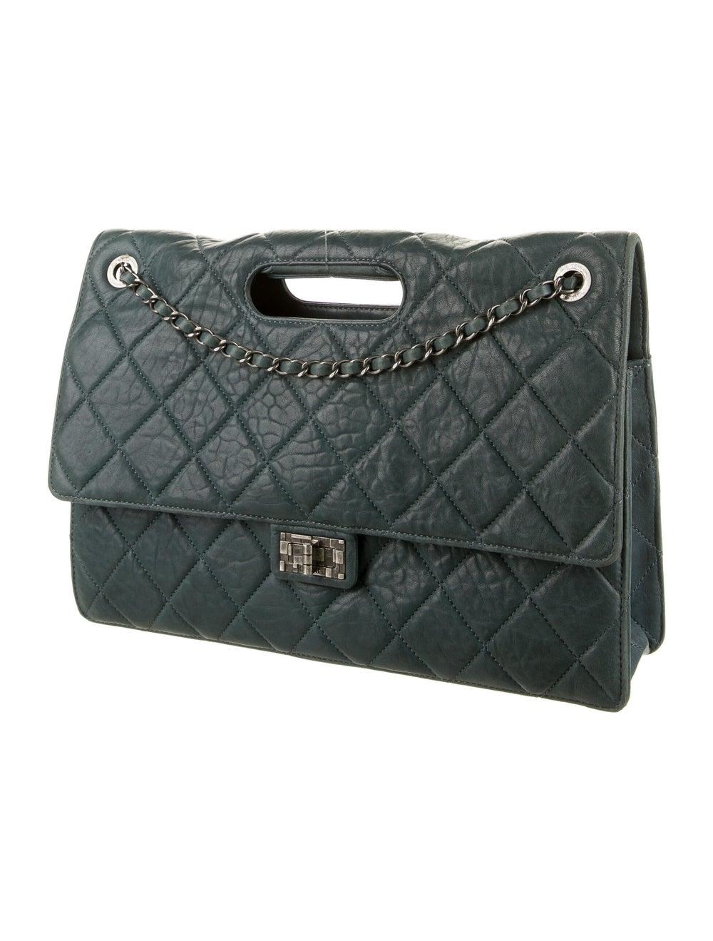 Chanel Paris-Byzance Take-Away Flap Bag Blue - image 3