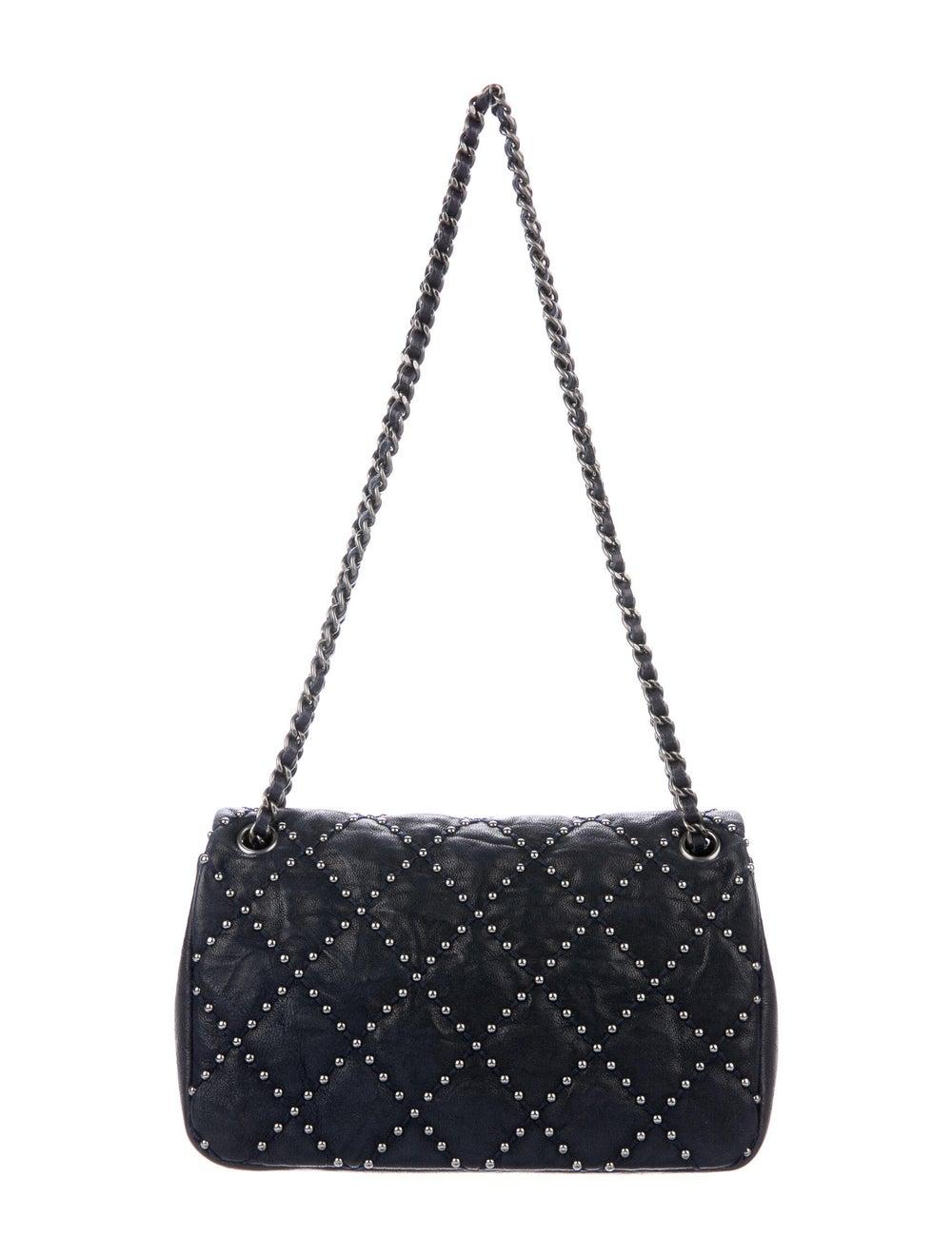 Chanel Metal Beauty Mini Flap Bag Blue - image 4