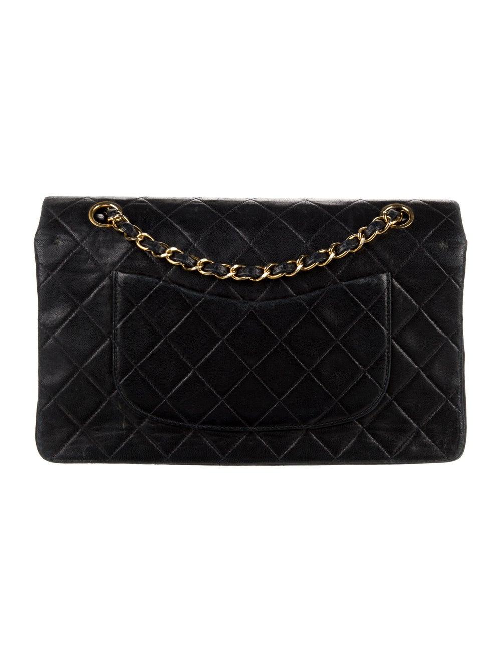 Chanel Vintage Classic Medium Double Flap Bag Blue - image 4