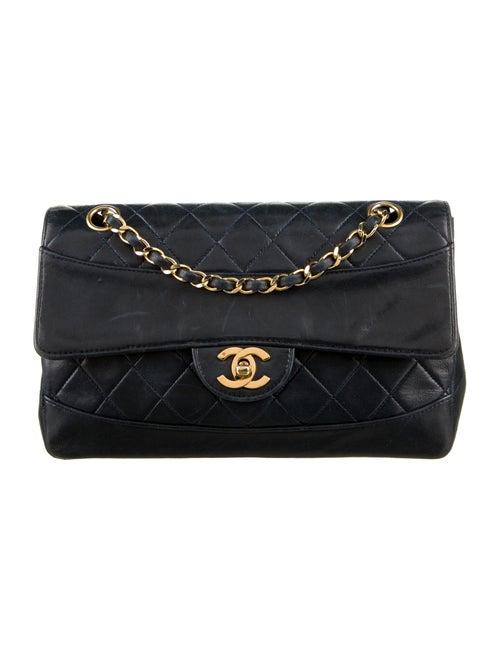 Chanel Vintage Quilted Flap Bag Blue - image 1