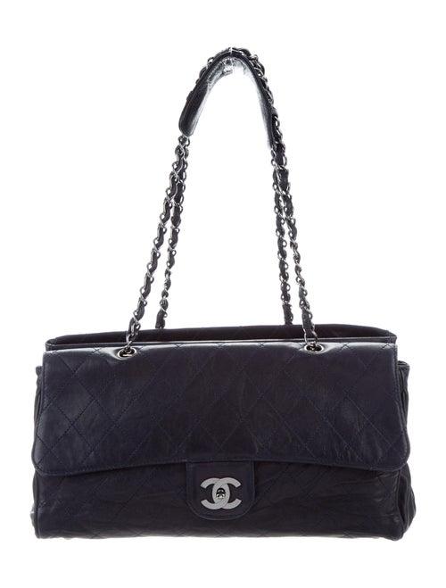 Chanel Ritz Flap Bag Blue - image 1